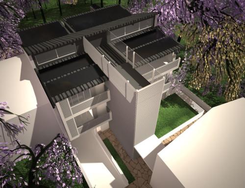 Ristrutturazione e conversione di villa in 6 appartamenti