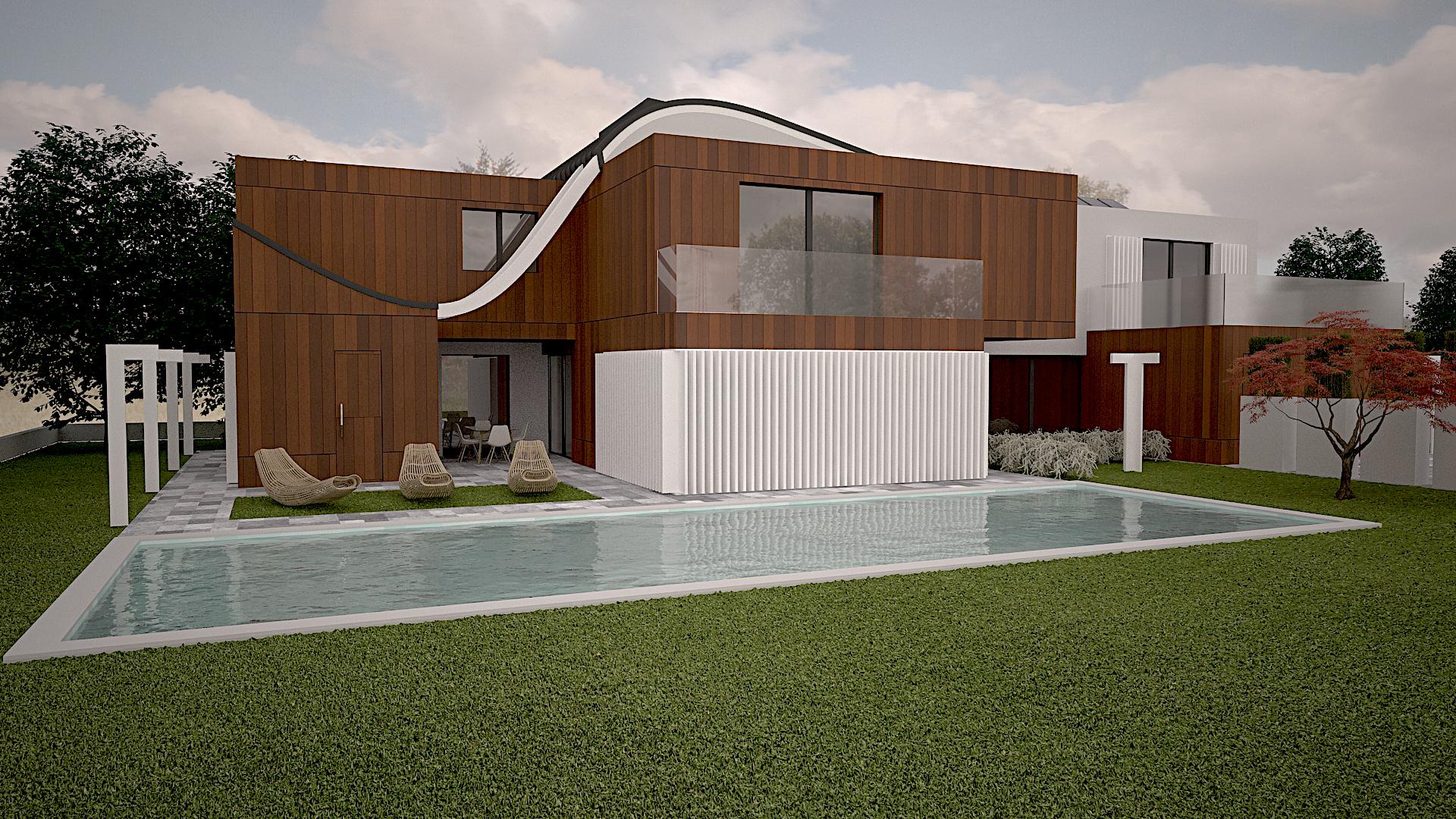 progettazione architettura casa prefabbricata legno milano provincia architetto design luxury style