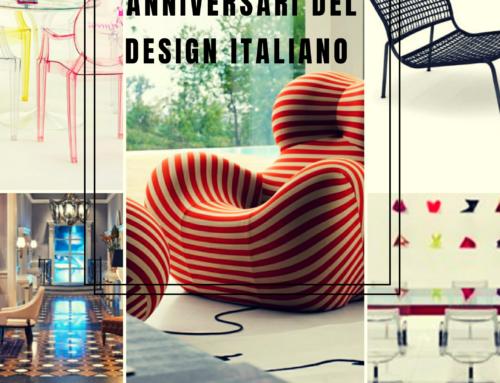 SALONE DEL MOBILE 2019 E GLI ANNIVERSARI DEL DESIGN ITALIANO.