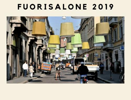 EVENTI MODA PER IL FUORI SALONE 2019