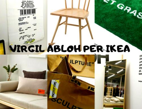 VIRGIL ABLOH PER IKEA